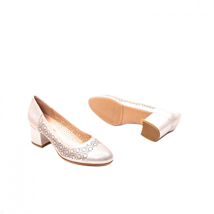 Pantofi dama eleganti, piele naturala peliculizata, K520 3