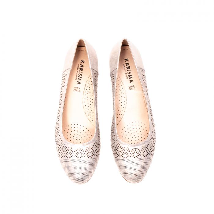 Pantofi dama eleganti, piele naturala peliculizata, K520 5