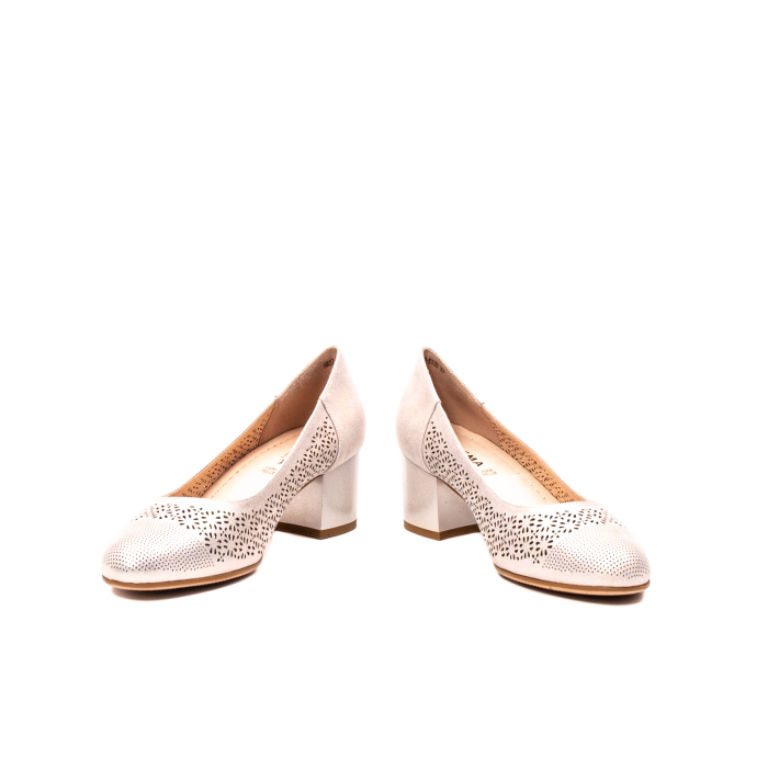 Pantofi dama eleganti, piele naturala peliculizata, K520 4