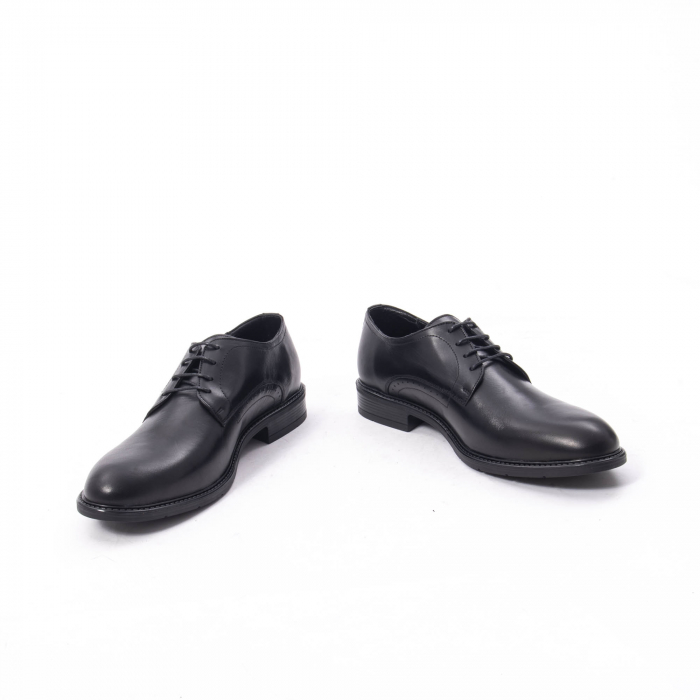 Pantofi eleganti barbati piele naturala, Catali 192545 negru 4
