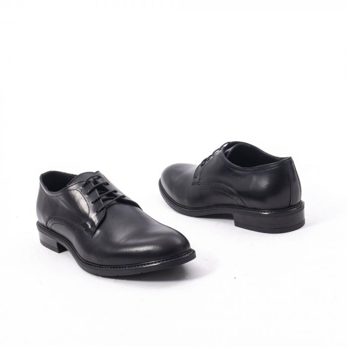 Pantofi eleganti barbati piele naturala, Catali 192545 negru 2