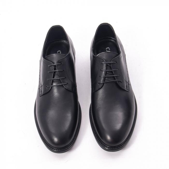 Pantofi eleganti barbati piele naturala, Catali 192545 negru 5