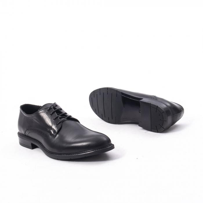 Pantofi eleganti barbati piele naturala, Catali 192545 negru 3