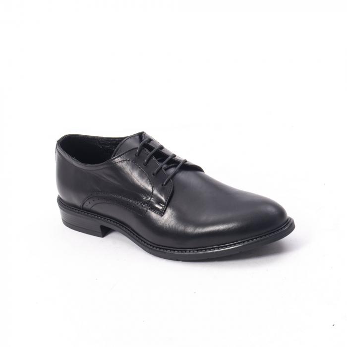 Pantofi eleganti barbati piele naturala, Catali 192545 negru 0