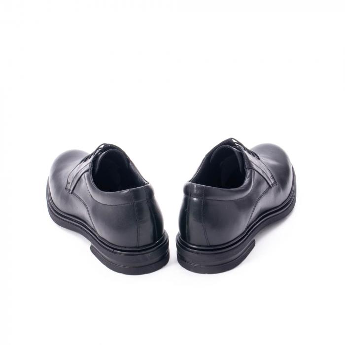 Pantofi eleganti de barbat din piele naturala,  998 negru 6