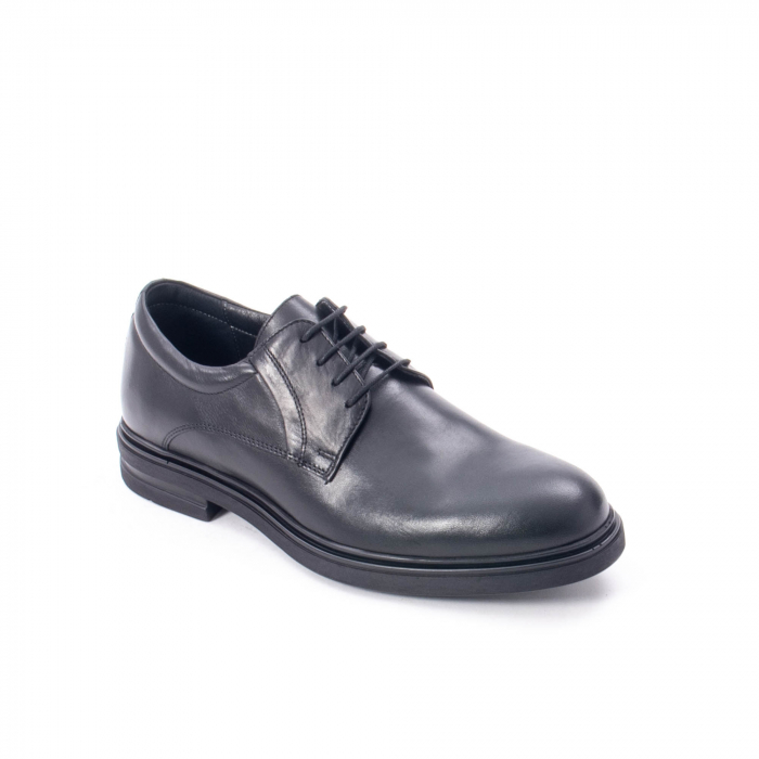 Pantofi eleganti de barbat din piele naturala,  998 negru 0