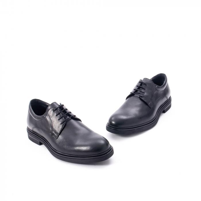 Pantofi eleganti de barbat din piele naturala,  998 negru 1