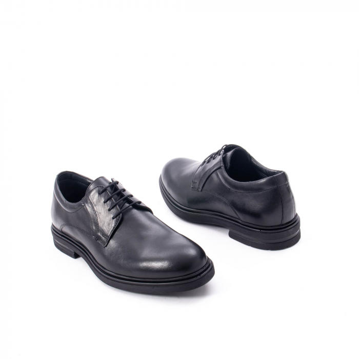 Pantofi eleganti de barbat din piele naturala,  998 negru 2