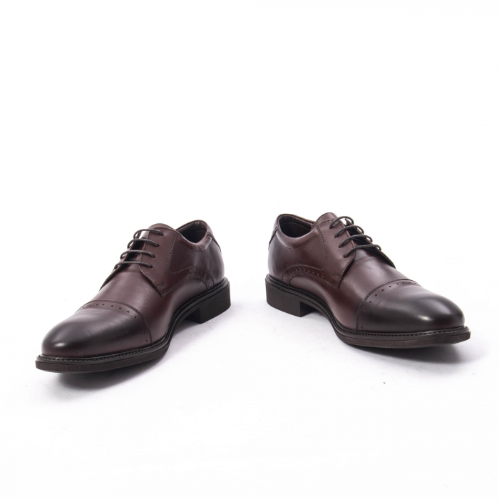 Pantofi eleganti de barbat,piele naturala Catali 172558 maro 4
