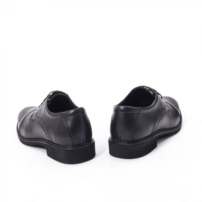 Pantofi eleganti de barbat,piele naturala Catali 172558 negru 6