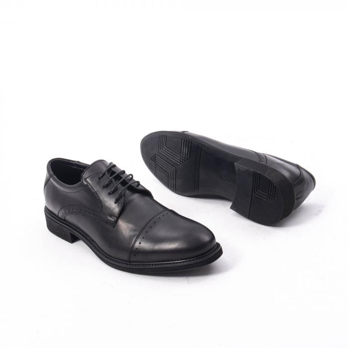 Pantofi eleganti de barbat,piele naturala Catali 172558 negru 3