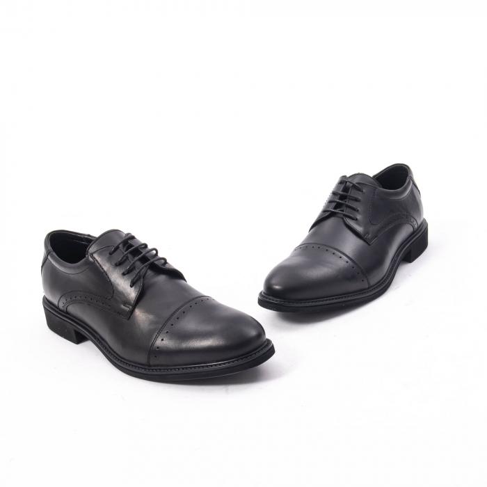 Pantofi eleganti de barbat,piele naturala Catali 172558 negru 1