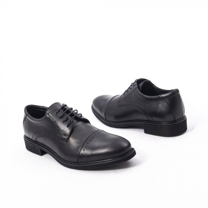 Pantofi eleganti de barbat,piele naturala Catali 172558 negru 2
