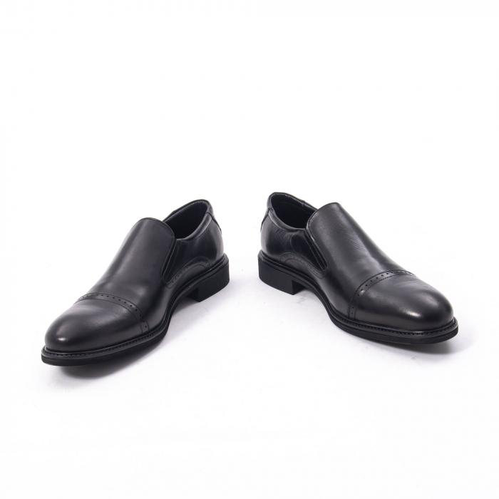 Pantofi eleganti barbati piele naturala Catali 172559, negru 4