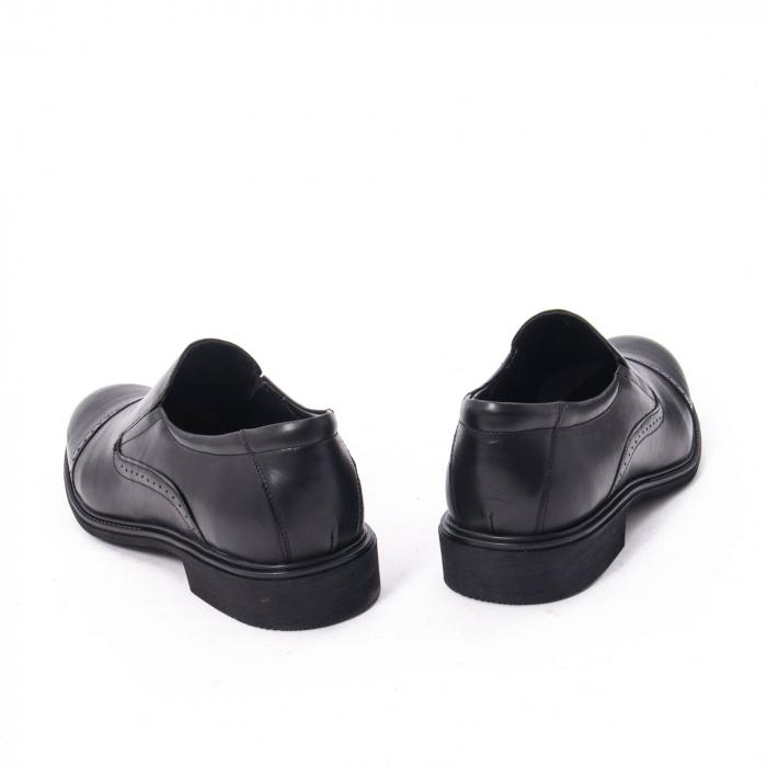 Pantofi eleganti barbati piele naturala Catali 172559, negru 6