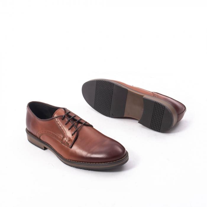 Pantofi eleganti barbat piele naturala Catali 182511, coniac 3