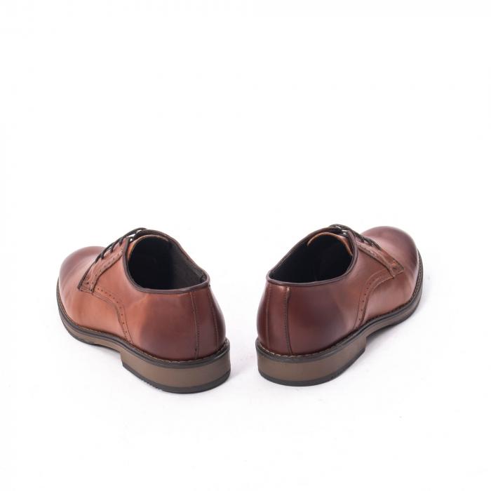 Pantofi eleganti barbat piele naturala Catali 182511, coniac 6