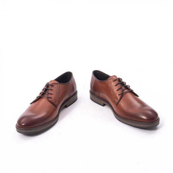 Pantofi eleganti barbat piele naturala Catali 182511, coniac 4