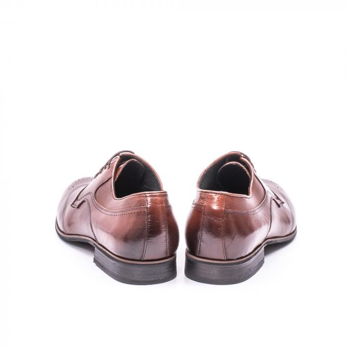 Pantofi eleganti piele naturala  QRF 335655-1 maro 6