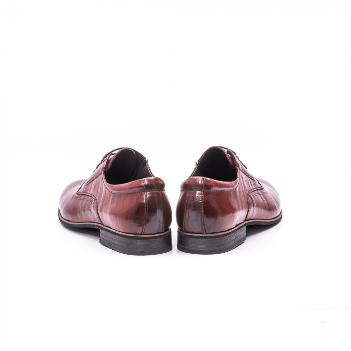 Pantofi eleganti piele naturala QRF 335692-2 23-N maro visiniu 6