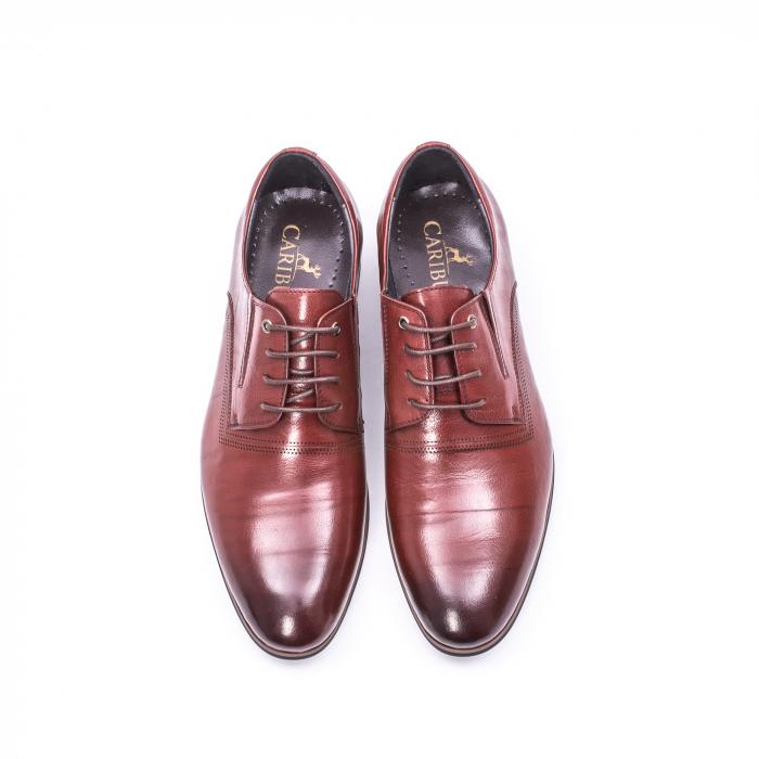 Pantofi eleganti piele naturala QRF 335692-2 23-N maro visiniu 5