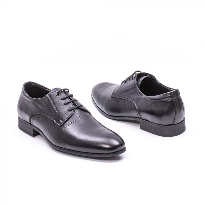 Pantofi eleganti piele naturala QRF 335692 negru 1