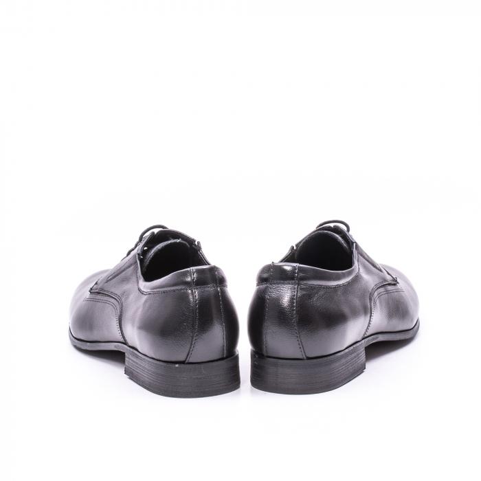 Pantofi eleganti piele naturala QRF 335692 negru 4
