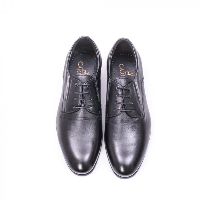 Pantofi eleganti piele naturala QRF 335692 negru 3