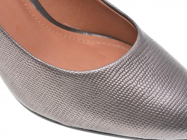 Pantofi EPICA gri, OE7122-337-455, din piele naturala 2