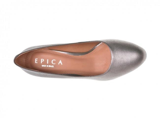 Pantofi EPICA gri, OE7122-337-455, din piele naturala 3
