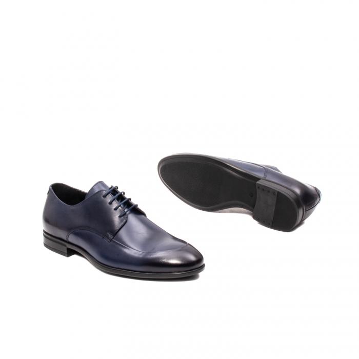 Pantofi barbati eleganti, piele naturala, LFX 577 BL 3