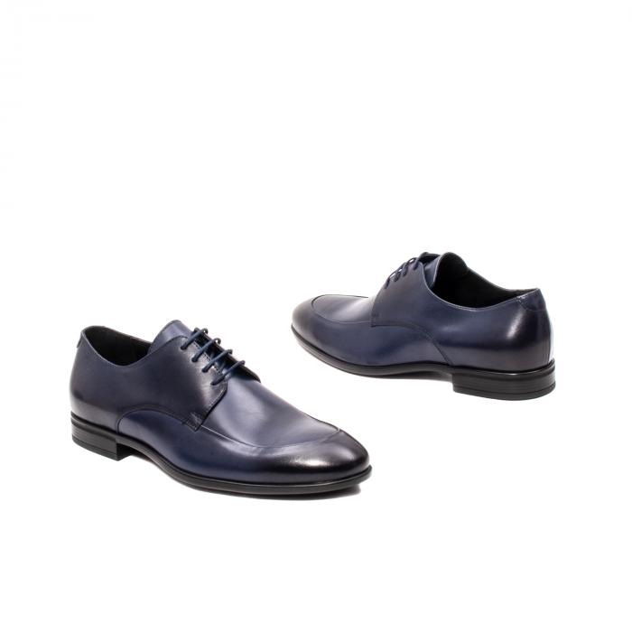 Pantofi barbati eleganti, piele naturala, LFX 577 BL 2