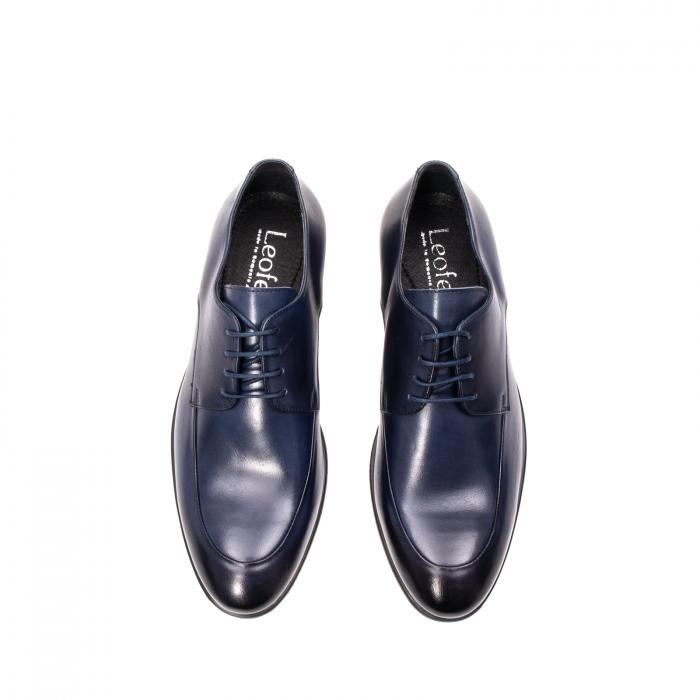 Pantofi barbati eleganti, piele naturala, LFX 577 BL 5