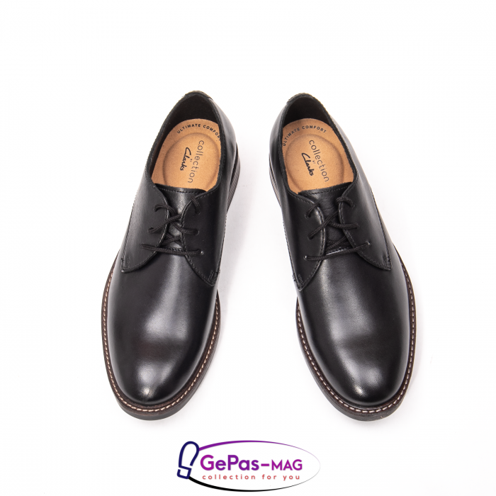 Pantofi Oxford din piele naturala Paulson Plain CL26144792 [4]