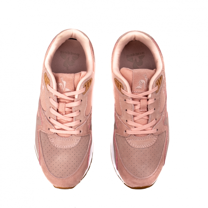 Pantofi sport dama tip Sneakers, piele naturala intoarsa, R800 W 5
