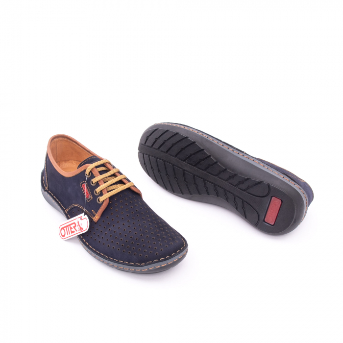 Pantofi barbati, piele naturala, OT 9558 42-2 2