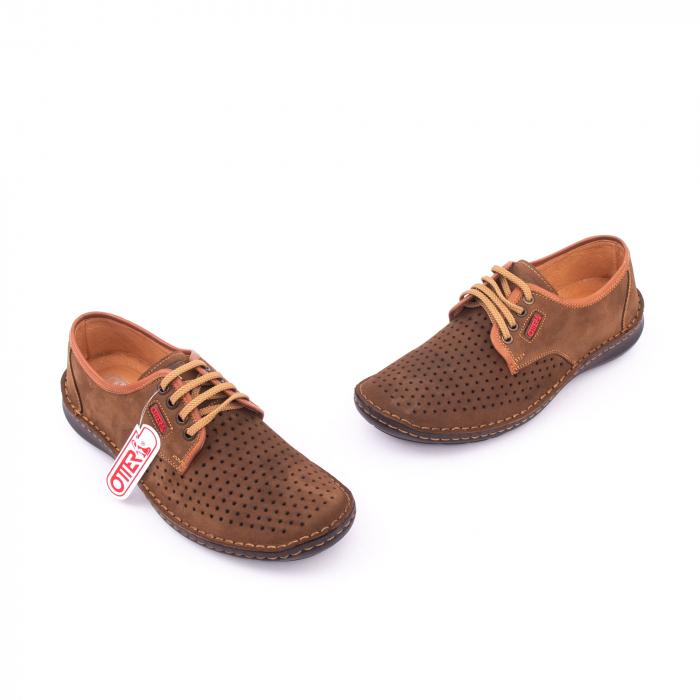 Pantofi vara barbat OT 9558 maro 1