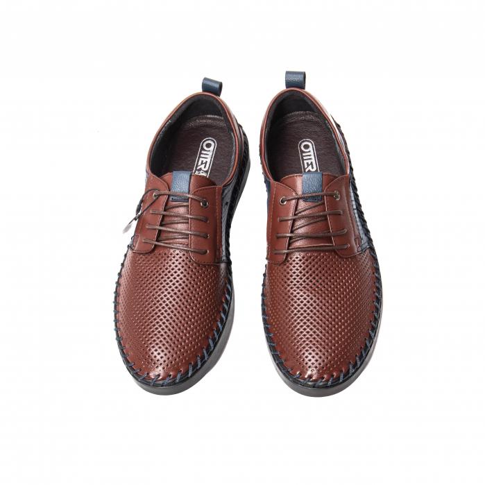 Pantofi vara barbat, piele naturala [4]