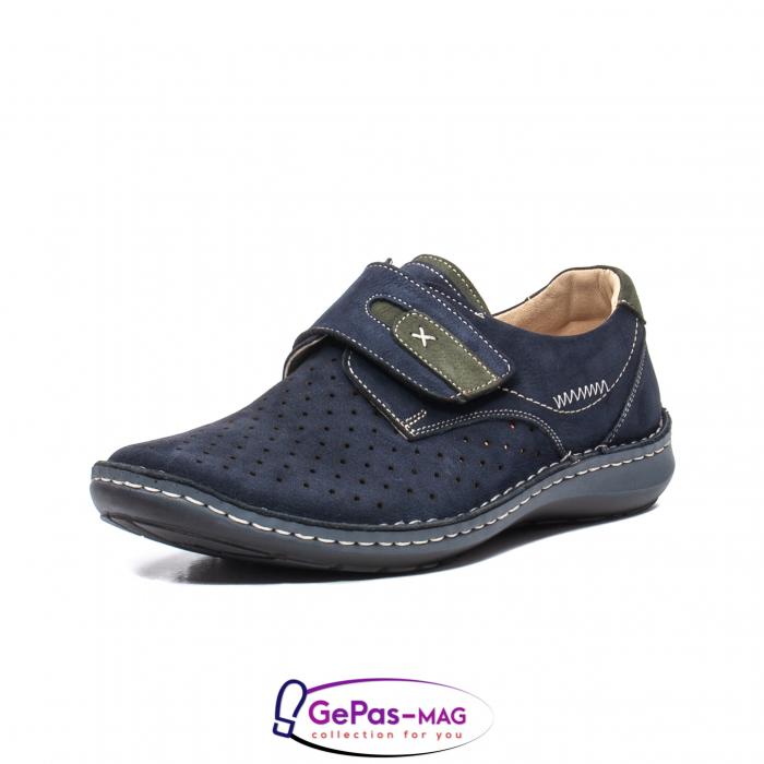 Pantofi vara barbati OT 9583 bleumarin [0]