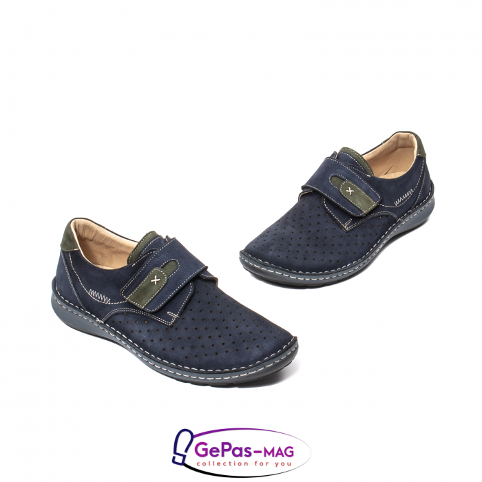 Pantofi vara barbati OT 9583 bleumarin [1]
