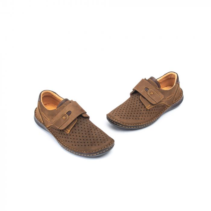 Pantofi vara barbati OT 9583 maro 1