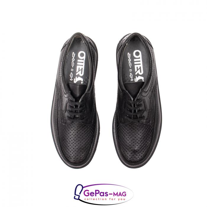 Pantofi vara barbati, piele naturala, OT27814V 5