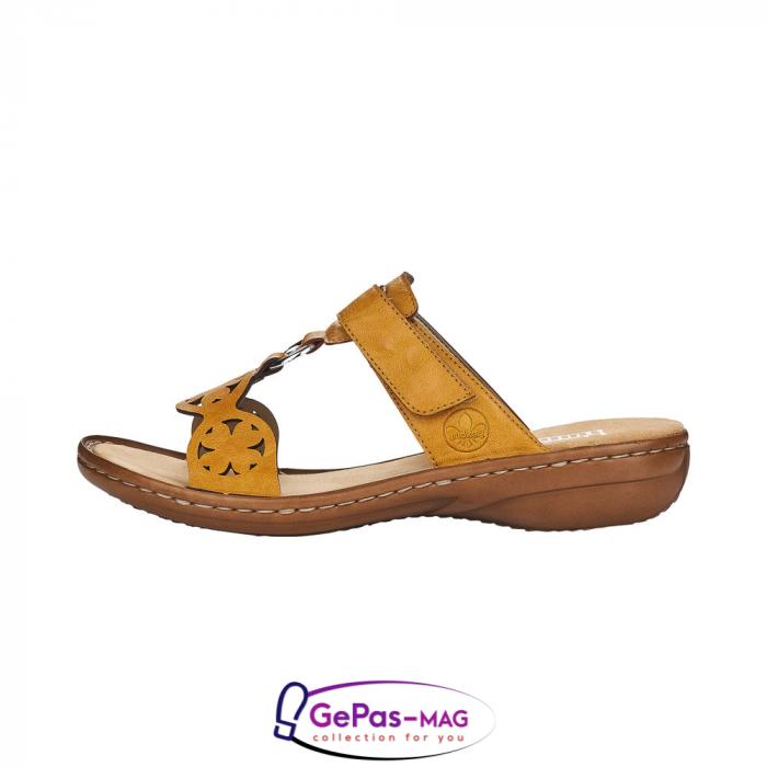 Papuci dama, piele ecologica, 60827-68 5