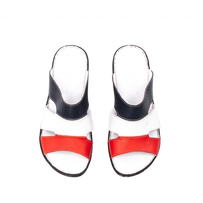 Papuci dama, piele naturala E3440, 15-N 5