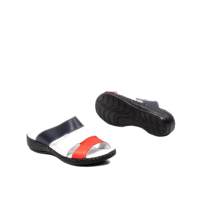 Papuci dama, piele naturala E3440, 15-N 3