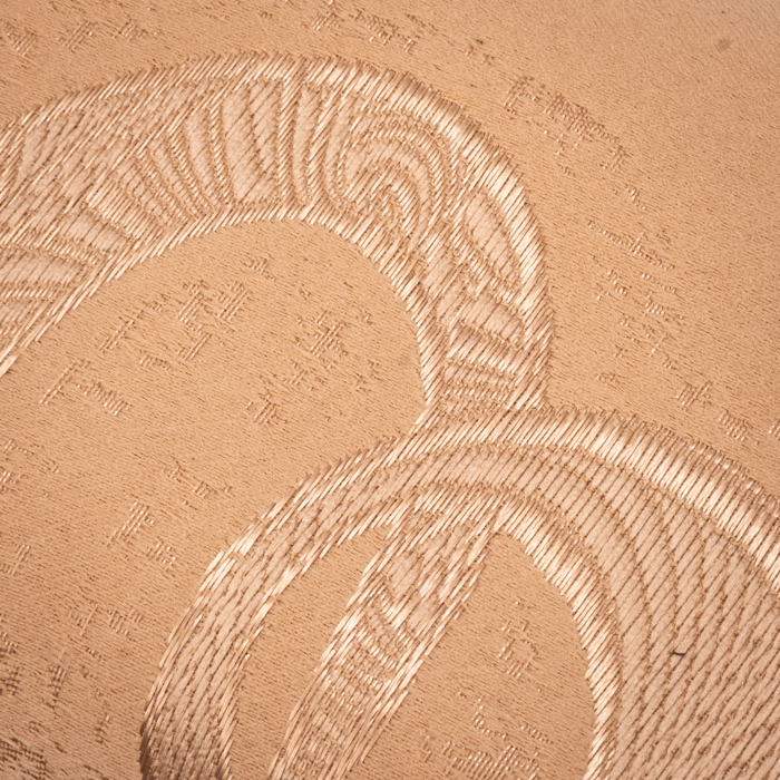Plic  butoias 002 textil bej auriu 3