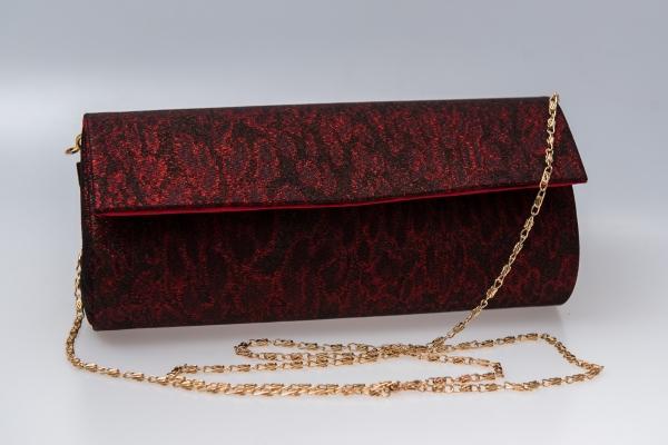 Plic butoias 002 textil rosu grena 1