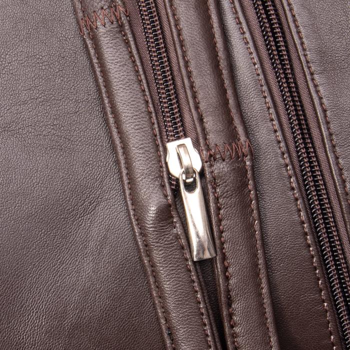Poseta dama tip rucsac,   piele naturala 747 M 1