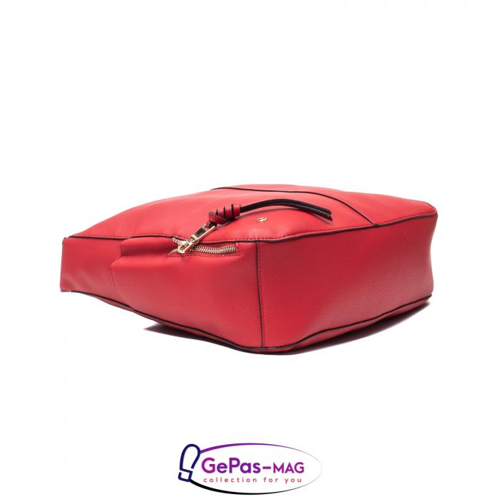 Poseta eleganta dama AR21210 rosu grena 3