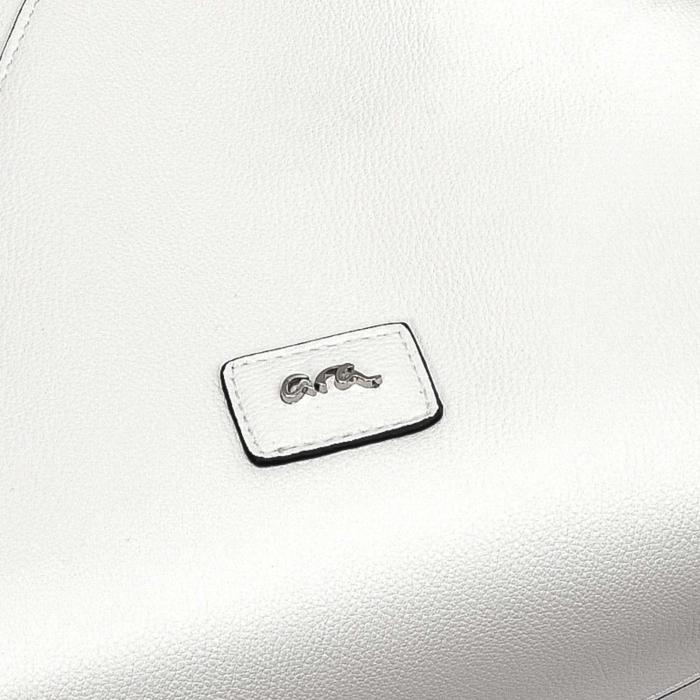 Poseta eleganta dama din piele eco, ARA 20611, alb 1